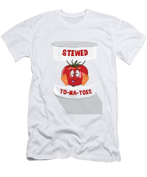 Stewed To Ma Toes Men's T-Shirt (Athletic Fit)