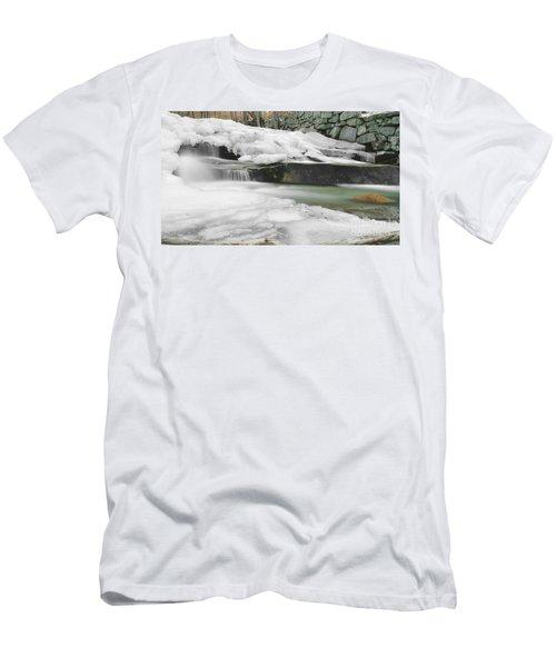 Stickney Brook Falls Men's T-Shirt (Athletic Fit)