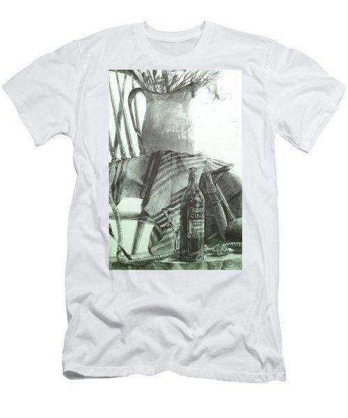Still Life Men's T-Shirt (Slim Fit) by Roro Rop