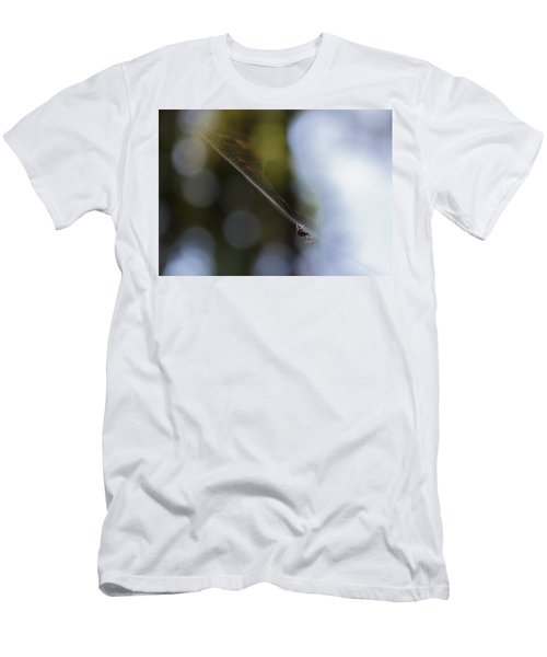 Men's T-Shirt (Slim Fit) featuring the photograph Still Vibration by Rhys Arithson