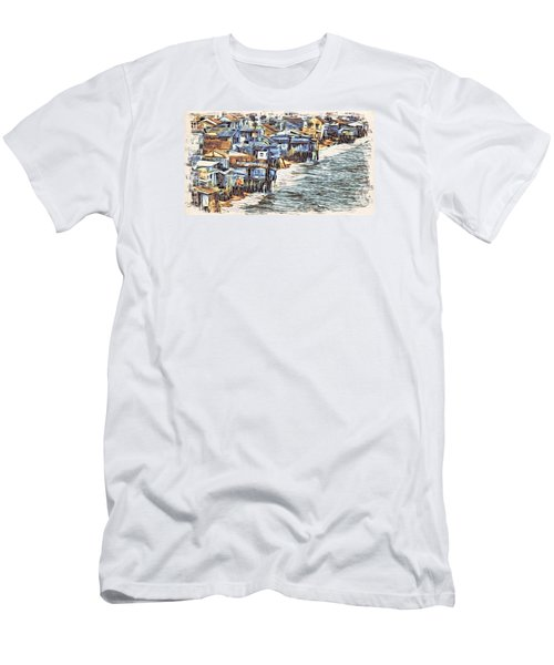 Stiltsville Men's T-Shirt (Athletic Fit)