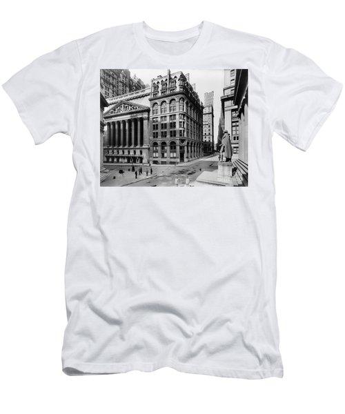 Stock Exchange, C1908 Men's T-Shirt (Athletic Fit)