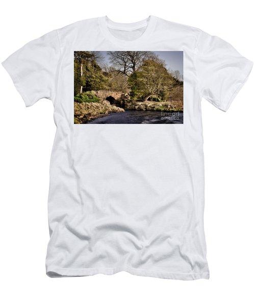 Stone Bridge On The Lake Men's T-Shirt (Athletic Fit)