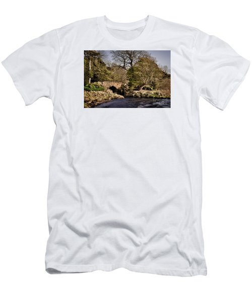 Stone Bridge On The Lake Men's T-Shirt (Athletic Fit)