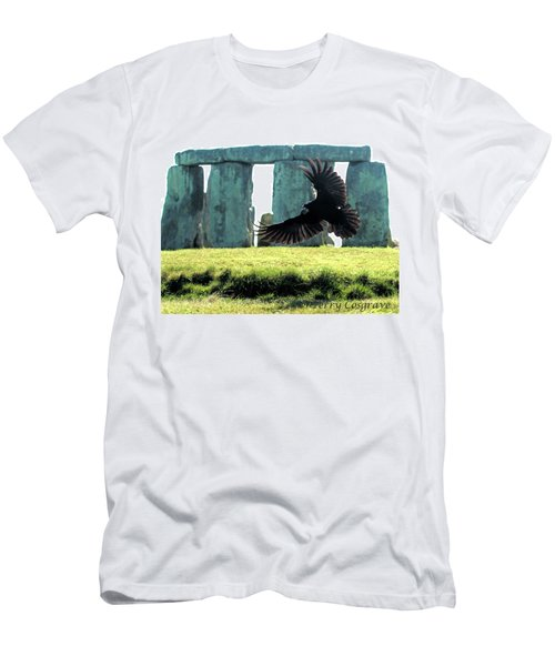 Stonehenge Crow Men's T-Shirt (Athletic Fit)