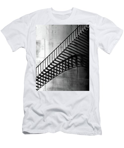 Storage Stairway Men's T-Shirt (Slim Fit) by Christopher McKenzie