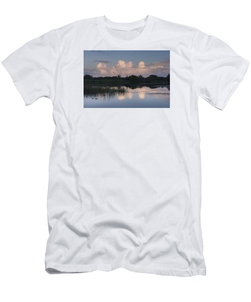 Storm At Sunrise Over The Wetlands Men's T-Shirt (Athletic Fit)