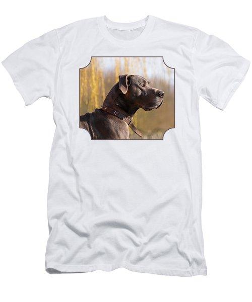 Storm The Great Dane Men's T-Shirt (Athletic Fit)
