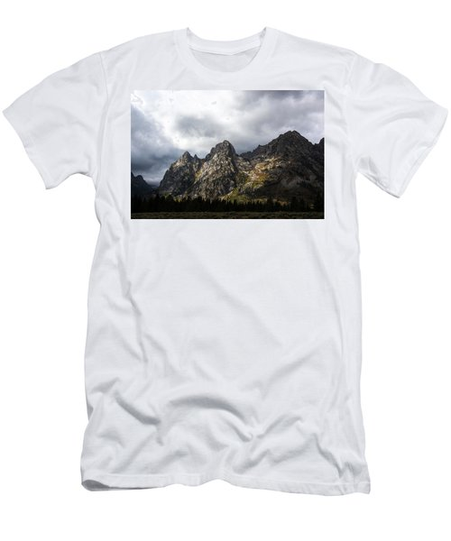 Men's T-Shirt (Athletic Fit) featuring the photograph Storming Light by Colleen Coccia