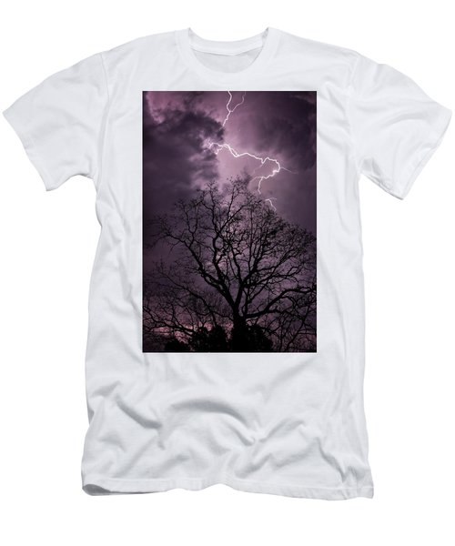 Stormy Night Men's T-Shirt (Athletic Fit)