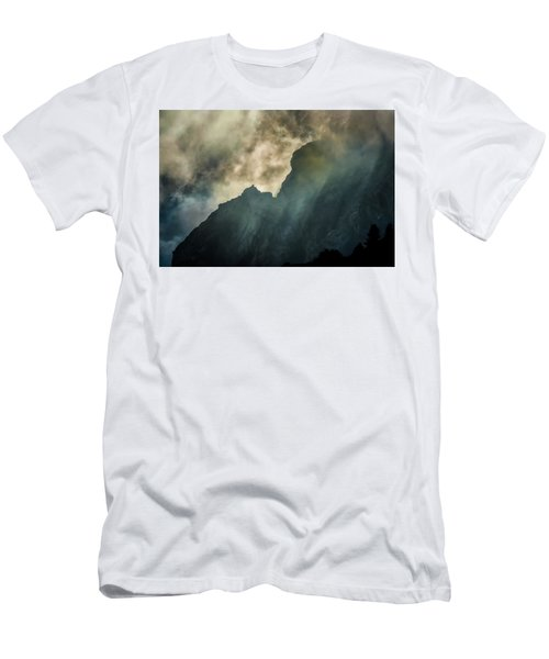 Stormy Wasatch- Rays Men's T-Shirt (Athletic Fit)