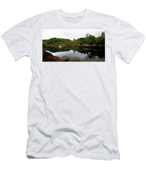 Men's T-Shirt (Athletic Fit) featuring the photograph Stornoway Calm by Rasma Bertz