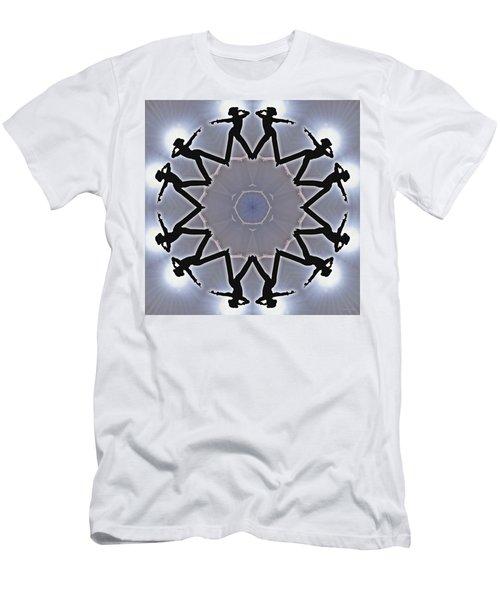 Men's T-Shirt (Athletic Fit) featuring the digital art Straight Shooter by Derek Gedney