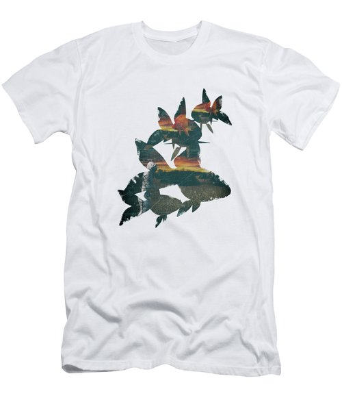 Strange Encounter Men's T-Shirt (Slim Fit) by Katherine Smit
