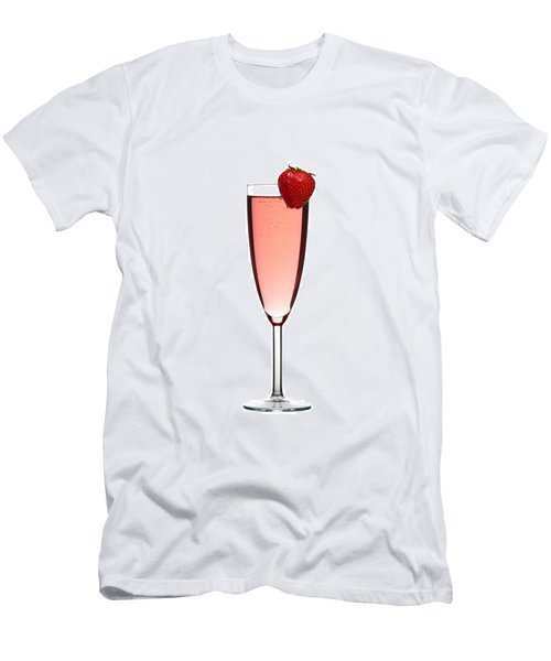Strawberry Champagne Men's T-Shirt (Slim Fit) by Gert Lavsen