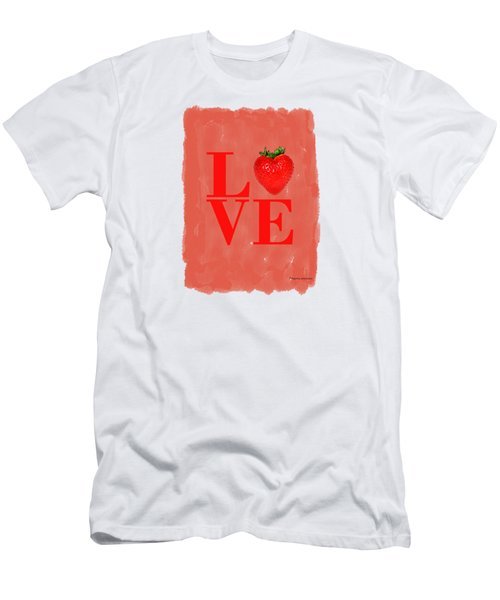 Strawberry Men's T-Shirt (Athletic Fit)
