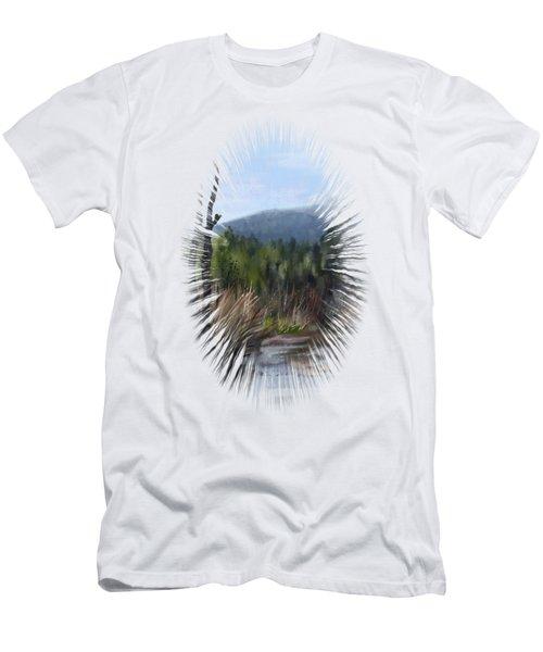 Stream Men's T-Shirt (Slim Fit) by Ivana Westin