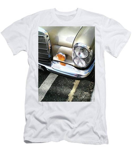 Men's T-Shirt (Athletic Fit) featuring the photograph Streetwise Glamour by Rebecca Harman