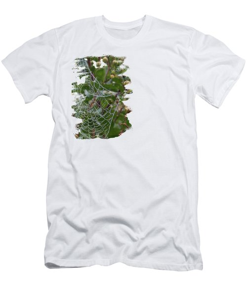 String Of Pearls Men's T-Shirt (Slim Fit) by Anita Faye