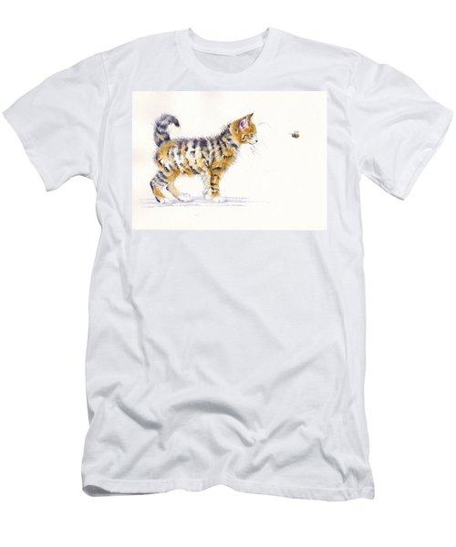 Stripey Creatures Men's T-Shirt (Athletic Fit)