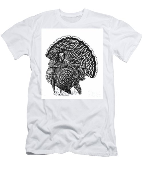 Strutting Gobbler Men's T-Shirt (Slim Fit)