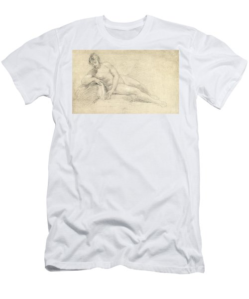 Study Of A Female Nude  Men's T-Shirt (Athletic Fit)