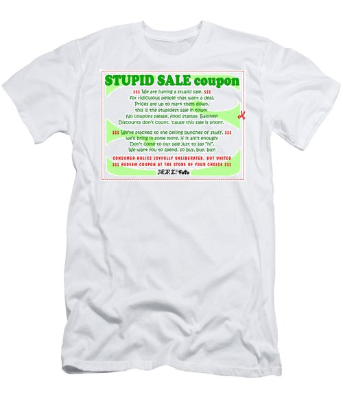 Real Fake News Stupid Sale Ad Men's T-Shirt (Athletic Fit)