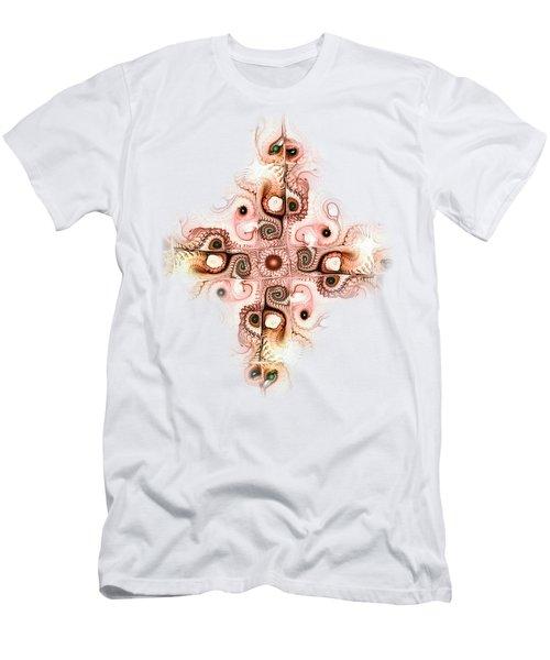 Subtle Cross Men's T-Shirt (Athletic Fit)