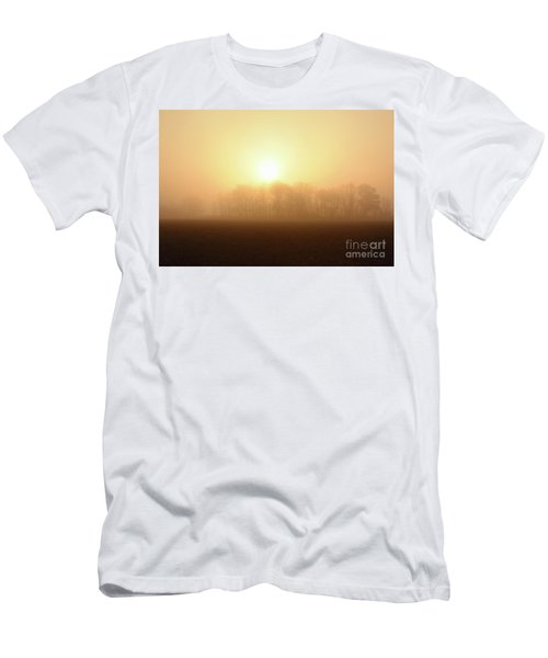 Subtle Sunrise Men's T-Shirt (Athletic Fit)