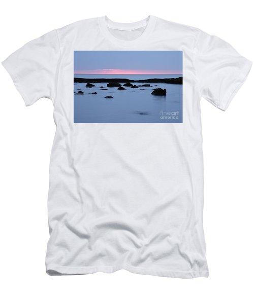 Men's T-Shirt (Slim Fit) featuring the photograph Subtle Sunrise by Larry Ricker