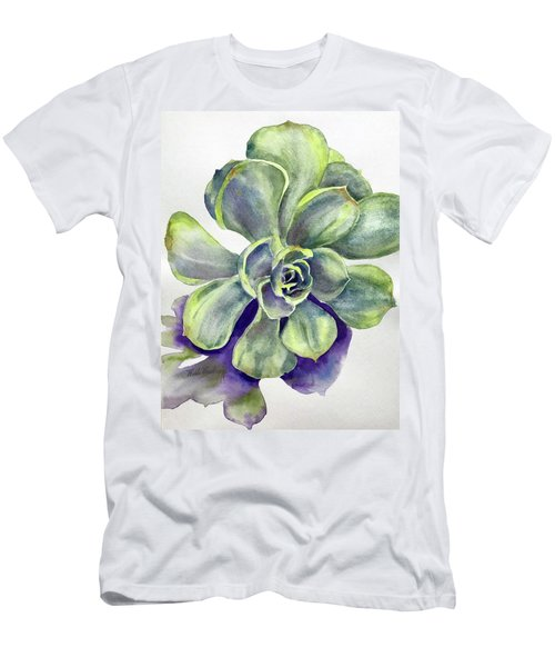 Succulent Plant Men's T-Shirt (Athletic Fit)