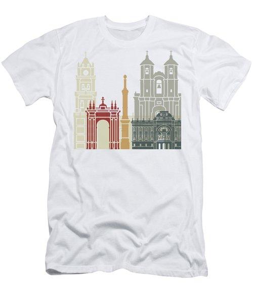 Sucre Skyline Poster Men's T-Shirt (Athletic Fit)