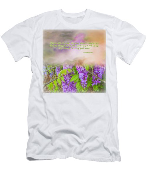 Sufficiency Men's T-Shirt (Slim Fit) by Larry Bishop