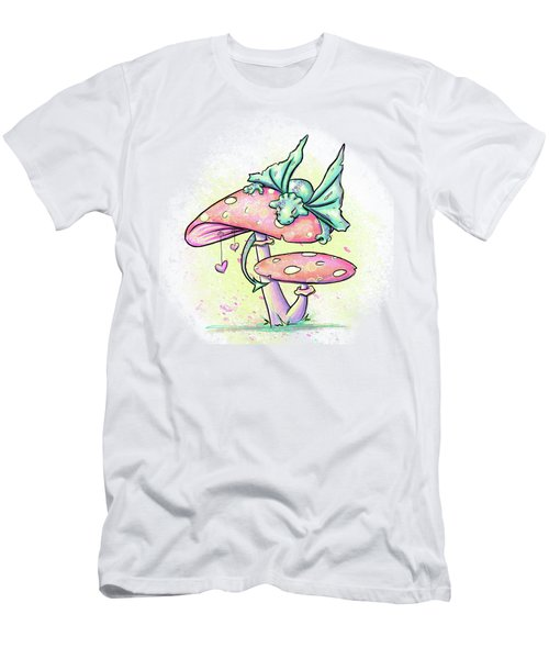 Sugar Puff The Dragon Men's T-Shirt (Athletic Fit)