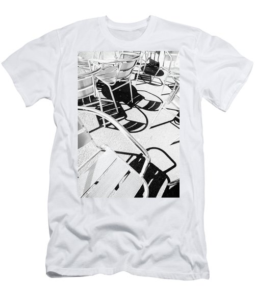 Summer Chair Pattern Men's T-Shirt (Athletic Fit)