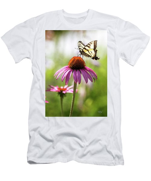Men's T-Shirt (Slim Fit) featuring the photograph Summer Colors by Everet Regal