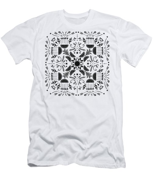 Summer Eating In The Country Men's T-Shirt (Athletic Fit)