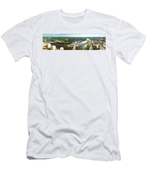 Summer In The Mill City Men's T-Shirt (Athletic Fit)