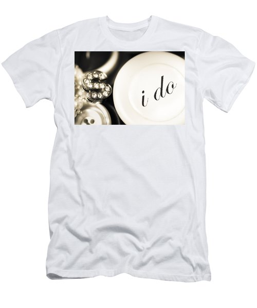 Summer Or Spring Wedding Details Men's T-Shirt (Athletic Fit)