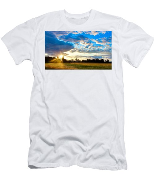 Summer Skies Men's T-Shirt (Athletic Fit)