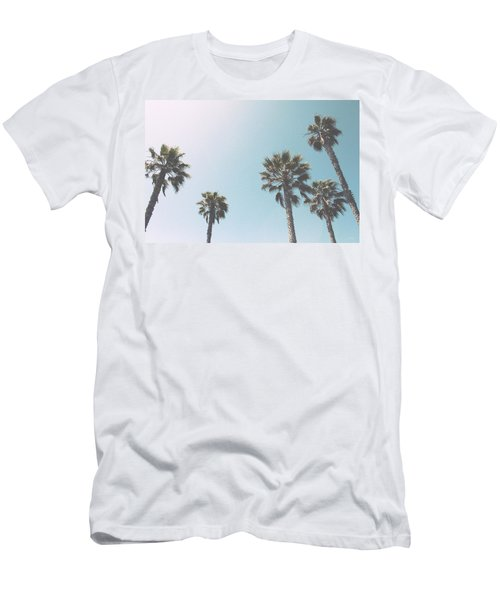 Summer Sky- By Linda Woods Men's T-Shirt (Athletic Fit)