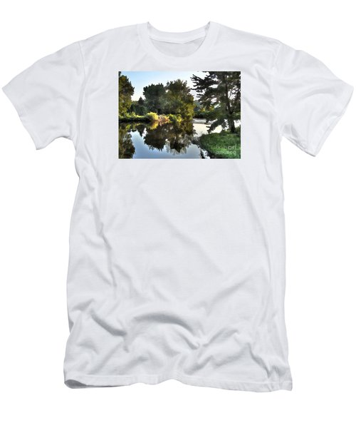 Men's T-Shirt (Slim Fit) featuring the photograph Summer Still by Betsy Zimmerli