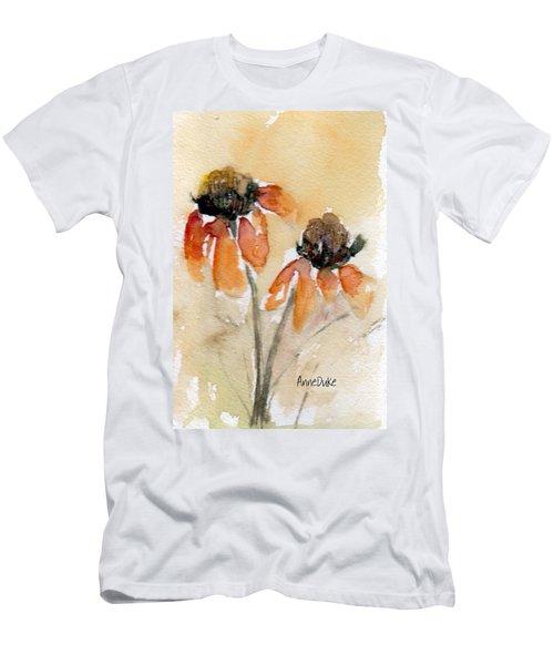 Summer Sunflowers Men's T-Shirt (Athletic Fit)
