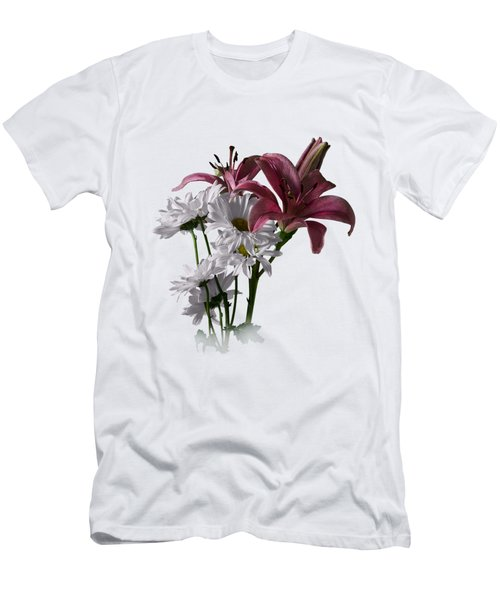 Summer Wild Flowers Clothing Men's T-Shirt (Athletic Fit)