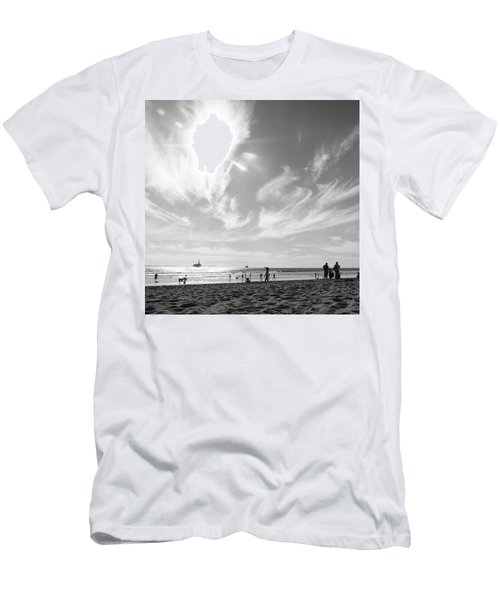 Summer's Sky Men's T-Shirt (Athletic Fit)