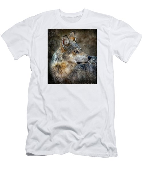 Summertime Coated Wolf Men's T-Shirt (Athletic Fit)