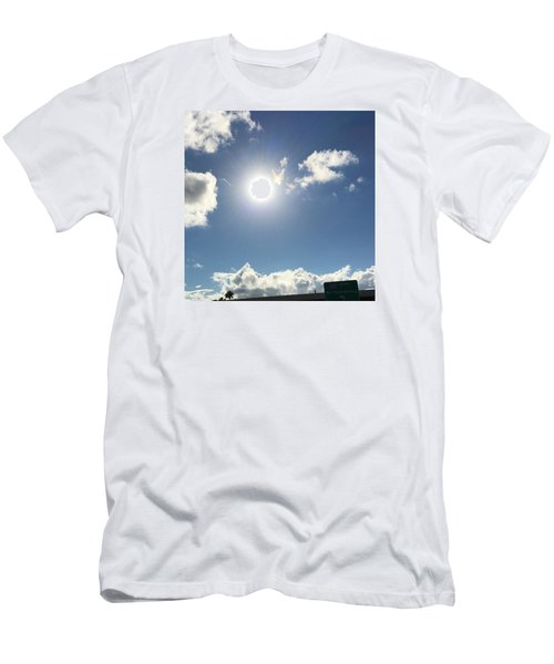 Sun Sky Angel Men's T-Shirt (Athletic Fit)
