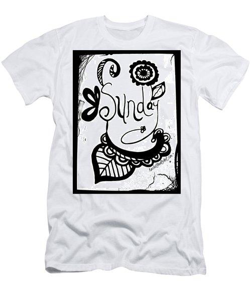 Sunday Men's T-Shirt (Athletic Fit)