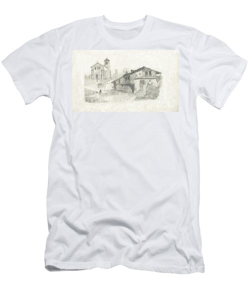 Sunday Service - No Borders Men's T-Shirt (Athletic Fit)