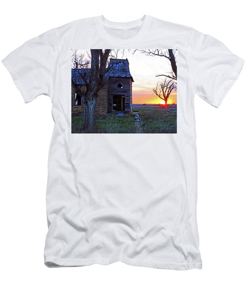 Sundown Church Men's T-Shirt (Athletic Fit)